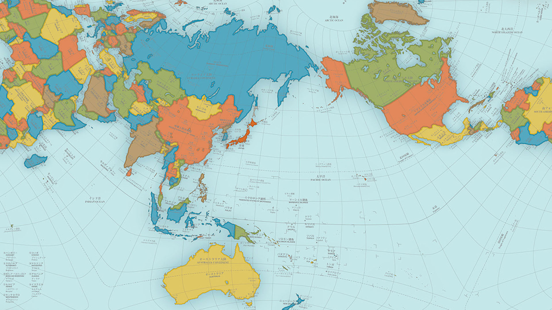 Authagraph World Map True Representation Of The