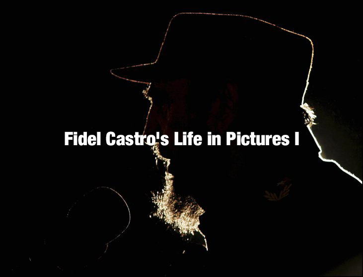 Cuban President Fidel Castro delivers a speech in Havana on Feb. 2, 2006, as Venezuelan President Hugo Chavez, having just been likened to Adolf Hitler by the Bush administration, received a U.N. prize named for Cuban independence hero Jose Martí. Jose Goitia—Gamma-Rapho/Getty Images