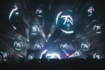 aphex twin field day live